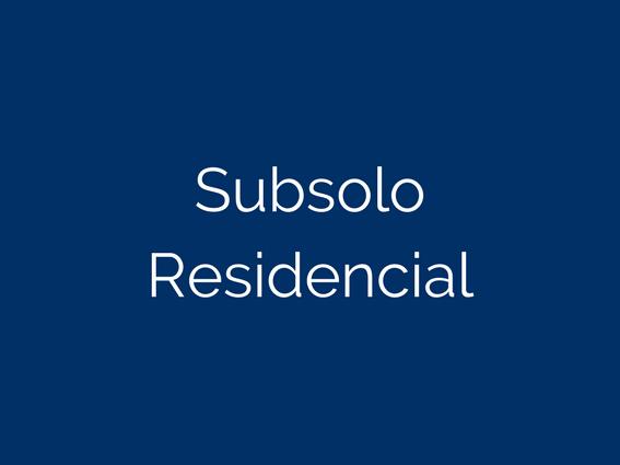 SubsoloResidencial